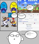 Comic 8: Clone Characters