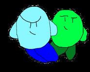 Blueandgreen