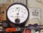 B res press gauge