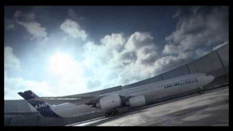A unique look at the A340