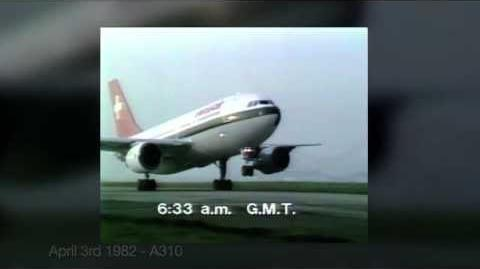 Airbus historical first flights