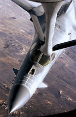 390px-B-1 Lancer aerial refueling