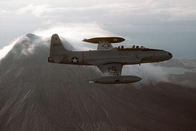 T-33A 5021TOS Alaska 1984