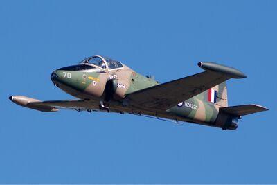 BAC 167 Strikemaster Mk88 Bundaberg Vabre-3