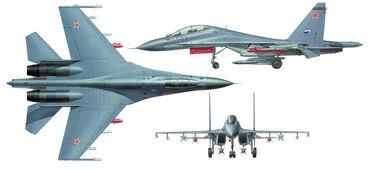 Su-30mkk 3view-1-