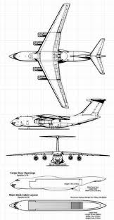 3d drawing of a Il-76