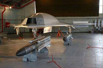 Russian UCAV MiG «Scat»