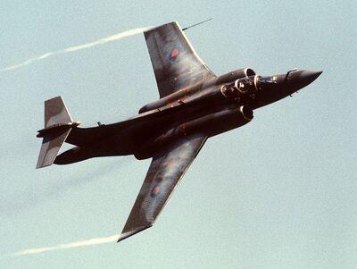 Buccaneer S2B Mildenhall 1988