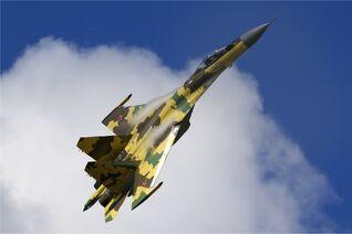 Russian Air Force Sukhoi Su-35 Belyakov-1-