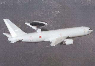 Boeing E-767 AWACS KC-767 tanker