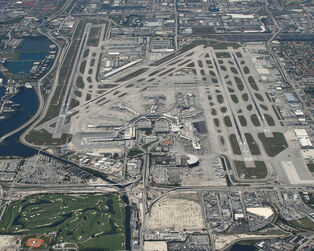 Two-Commercial-Jets-Collide-At-Miami-International-Airport