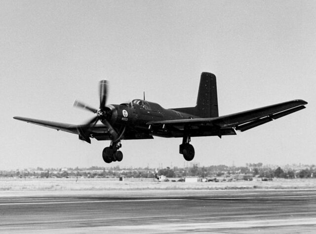 File:800px-Douglas XTB2D-1 landing c1945.jpg