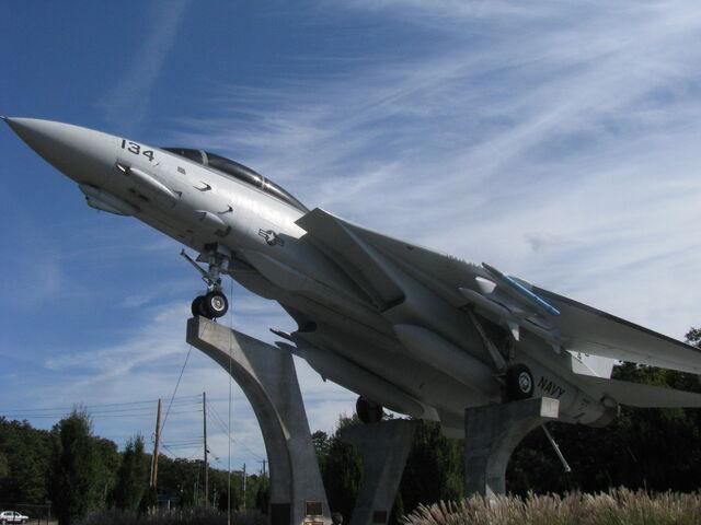 File:F-14A at Grumman Memorial Park .jpg