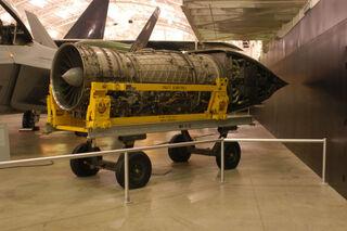800px-Pratt & Whitney YF-119 USAF