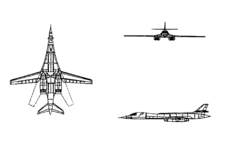B-1B drawing