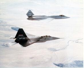YF-22 and YF-23-1-