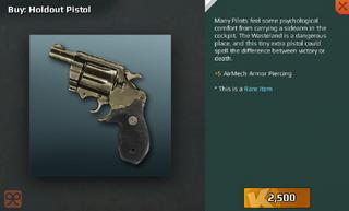 Holdout Pistol Full