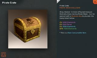 Pirate Crate Full