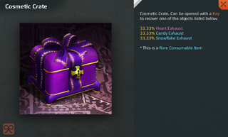 Cosmetic Crate Full