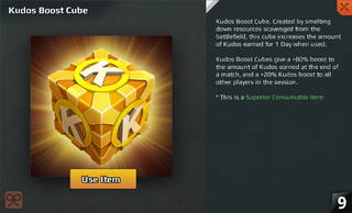 Kudos Cube Full