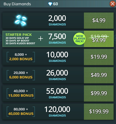 Diamond Bundle b30781
