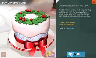 Christmas Cake Full