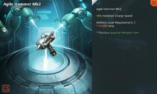 Agile Hammer Mk2 Full