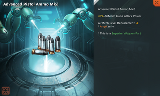 Advanced Pistol Ammo Mk2 Full