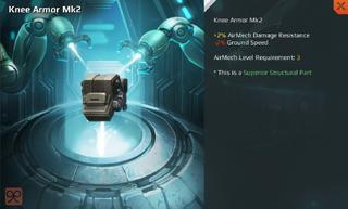 Knee Armor Mk2 Full