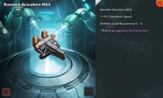 Boosted Actuators Mk4 Full