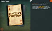 Denev Crater Card Full