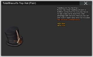TBs Top Hat Flair