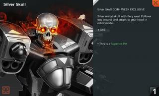 Silver Skull Full
