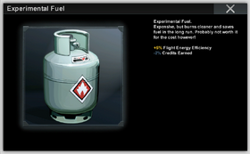 Experimental Fuel Curr