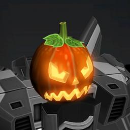 Angry Pumpkin Head Crop