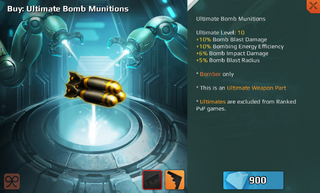 Ultimate Bomb Munitions Full