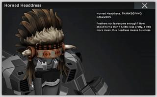 Horned Headdress b20718