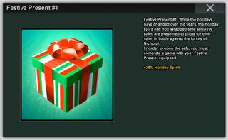 Festive Present 1