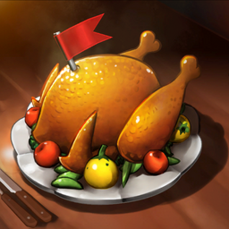 Cooked Turkey Crop