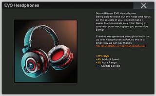 EVO Headphones