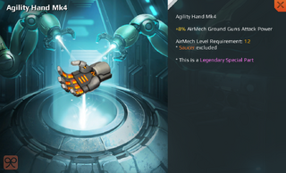 Agility Hand Mk4 Full