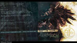 Airmech OST by FLA album cover 1920x1080