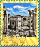 Excavations Ancient Rome-Stamp