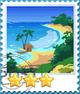 Bali Island-Stamp