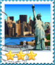 New York-Stamp
