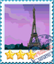 Paris-Stamp