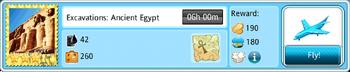 Excavations Ancient Egypt-Flight Details