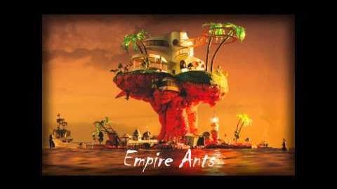 Gorillaz - Empire Ants (Lyrics) (HAHAHHAHA)