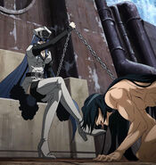 Esdeath and a broken Numa Seika