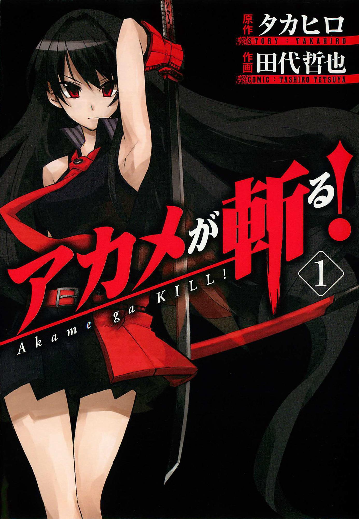 akame ga kill manga volume 1 ile ilgili görsel sonucu
